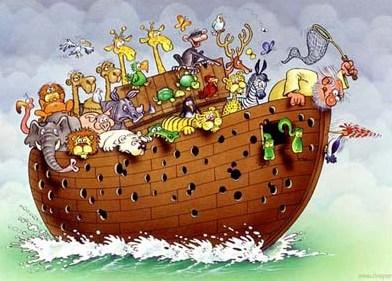 Дятел может продолбить ковчег - и ага.  Таким не место в Новом Мире.