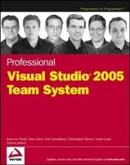 Professional Visual Studio 2005 Team System Wrox Book Cover Thumbnail